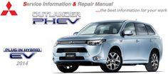 Mitsubishi Workshop and Repair Manual: NEW OUTLANDER PHEV 2014 WORKSHOP MANUAL