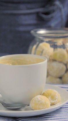 Que tal fazer esse maravilhoso e super fácil biscoito amanteigado para o chá da tarde?