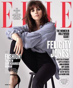 Felicity Jones for ELLE's 2016 Women in Hollywood Issue Cover