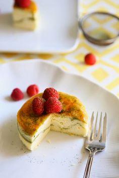 Gourmet Baking: Japanese Cheesecake with Green Tea Swirls