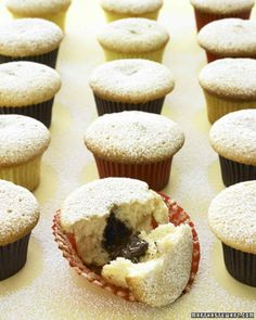 Chocolate-Filled Cupcakes