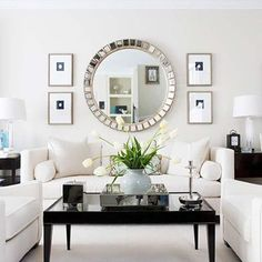 9 Ways to Fake Extra Square Footage With Mirrors | Pinterest | Small ...