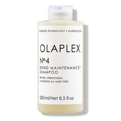 Check out exclusive offers on Olaplex No. 4 Bond Maintenance™ Shampoo at Dermstore. Order now and get free samples. Shipping is free! Olaplex Shampoo, Damaged Hair Repair, Color Your Hair, Moroccan Oil, Hair Care Routine, Protective Hairstyles, Hair Type, Natural Texture, Bond