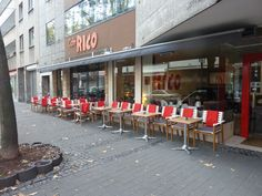 Cologne -Best Coffee & Cake -Cafe Rico Mittelstrasse Cake Cafe, Best Coffee, Coffee Cake, Cologne, Coffee Shop, Conference Room, Table Decorations, Furniture, Home Decor