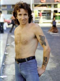 "Bon Scott.  I guess he rode that ""Highway to Hell"".  He did the vocals on ACDC's best."