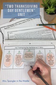 Teach your middle school students about irony, summarizing, text evidence and writing while close reading this great Thanksgiving story by O. Ela Classroom, Classroom Activities, Learning Activities, Thanksgiving Stories, Thanksgiving Activities For Kids, Middle School Ela, Middle School English, Paragraph Writing, Essay Writing