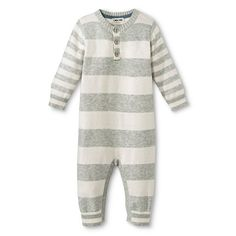 Newborn Boys' Sweater Coverall