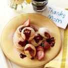 Try the Blintz Filled Pancakes Recipe on williams-sonoma.com