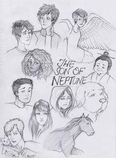 HoO: The Son of Neptune by seanfarislover on DeviantArt
