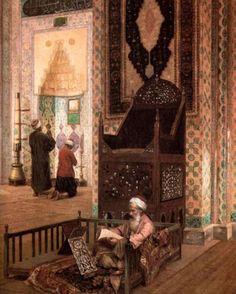 Rudolf Ernst - Rüstem Pacha mosquée, Istanbul