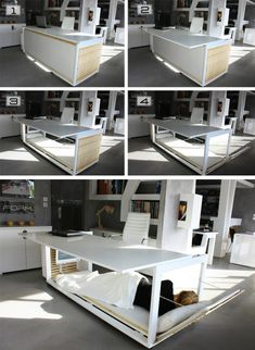 Athanasia Leivaditou – would craf the Life Desk, an intentional solution for sleeping where you work without simply drifting off while you sit at your desk.