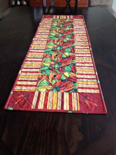 Fiesta Chili Table Runner