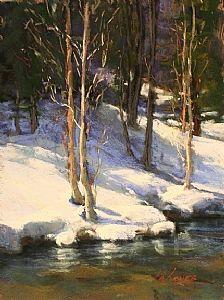 Sierra Chill by Kim Lordier Pastel ~ 12 x 9