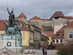 Eger, Square  Dobó , Hungary