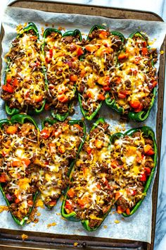 Low Carb Stuffed Poblano Peppers - The Girl on Bloor