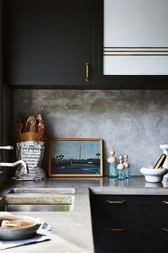 concrete | kitchen | inside out