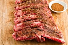 This is the traditional barbecue rub recipe for Kansas City-Style Ribs. Finish them off with a good barbecue sauce for a fantastic meal. Dry Rub Recipes, Rib Recipes, Grilling Recipes, Smoker Recipes, Vegetarian Grilling, Healthy Grilling, Barbecue Recipes, Recipies, Vegetarian Food