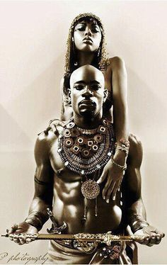 Warrior King and Queen