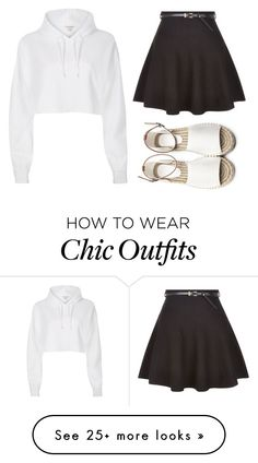 """Chic"" by nuria-f on Polyvore featuring River Island and New Look"
