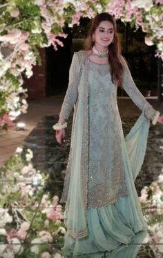Asian Wedding Dress Pakistani, Desi Wedding Dresses, Beautiful Pakistani Dresses, Pakistani Dresses Casual, Indian Fashion Dresses, Pakistani Dress Design, Indian Designer Outfits, Shadi Dresses, Pakistani Engagement Dresses