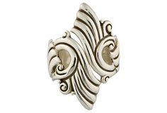 Mexican Sterling Silver Clamper Bracelet on OneKingsLane.com