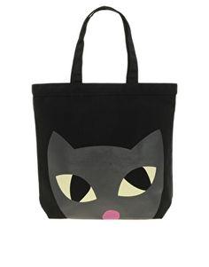 Lulu Guinness Lily Cat Shopper