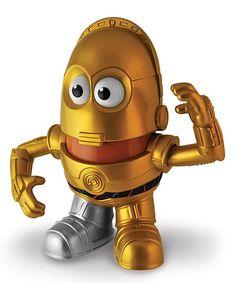 Look at this #zulilyfind! Star Wars C-3PO Mr. Potato Head #zulilyfinds