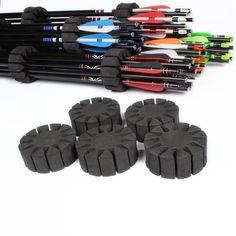 6PCS Arrow Holder EVA Foam Round Rack 12 Arrows Separator #huntingarrow