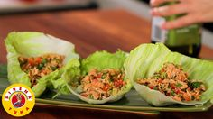 Lettuce Cups with Chilli Tuna by Justine Schofield of Everyday Gourmet
