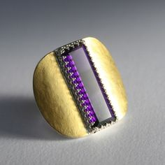 Amethyst Ring - Christina Cunali