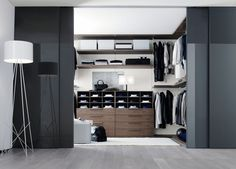 Amazing Room Closet Ideas And Wardrobes With Black Sliding Door