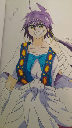 Sinbad - Magi the Labirinth of Magic