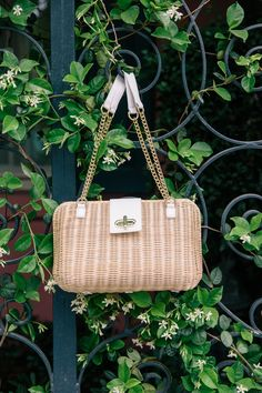 c814029f0961 Wicker Handbag for Summer