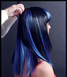 The only blues were feeling this Friday is our hair  clip it in & switch it out as you please   #fridayfun #allaboutdahair #bluehair #bluehighlight #clipinhair #authentichairarmy  #hairartist #hairpainters #hairbrained #hairenvy #hairgoals #hairideas #hairinspiration #hairinspo #hairlove #hairmagic #hairmakeover #hairobsessed #hairstylist #hairtransformation #hairtrends #healthyhair #nodye  #maneinterest #modernsalon #trendyhair #chatterssalon #bsohair #esphair #extendithair  via… Hair Inspo, Hair Inspiration, Blue Highlights, Hair Brained, Good Friday, Hair Transformation, Trendy Hairstyles, Blue Hair, Healthy Hair