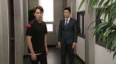 드라마 좋은사람 배우 장재호  벌칸 더블 지퍼 티셔츠 - 블랙  BERKHAN DOUBLE ZIP T-SHIRT - BLACK
