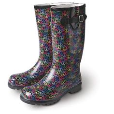 Super cute boots for a rainy day!