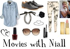 """""""Movies with Niall"""" by niallluv ❤ liked on Polyvore"""