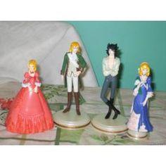Figuras De Lady Oscar (la Rosa De Versalles)
