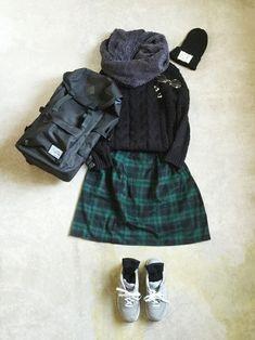 italie to franceのニット・セーターを使ったナチュラル服のイタフラ さんのコーディネートです。│こんばんは☆ずっと愛用していたP...