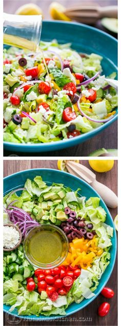 10 Top Rated Clean Eating Salads...all i eat now.