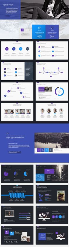 Vesteller Multipurpose Template   Get a modern Powerpoint Presentation that is beautifully designed and functional. This slides comes with infographic elements...