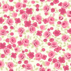 Ditsy Rose Fabric | Dunelm #floral