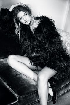Gigi Hadid for Vogue UK January 2016                                                                                                                                                                                 More