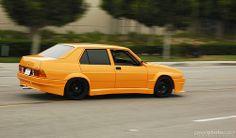 Alfa Romeo 75 - Yellow Car