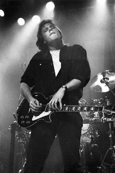 Jeff Healey - LOVED him! I saw him perform a couple of times. He touched my right shoulder - oooohhhh!