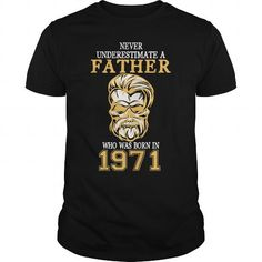 Father 1971 T-Shirts Hoodie