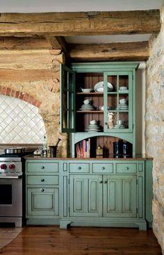 primitive kitchen ideas   Period Architecture Ltd. designs a gourmet kitchen with revolutionary ...