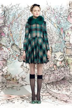 Red Valentino Fall 2013 Ready-to-Wear - Collection - Gallery - Style.com
