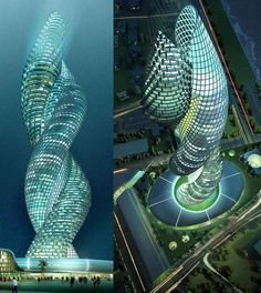 The Cobra Tower in Kuwait