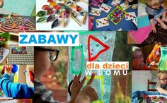 zabawy dla dzieci w domu przedszkolu kreatywne dwulatka trzylatka Preschool Crafts, Cute Animals, Concept, Play, Education, Fun, Kids, Pretty Animals, Young Children